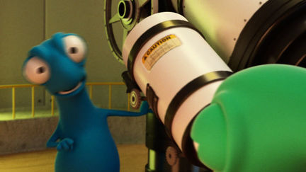 Inside observatory (Still image from commercial)
