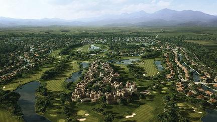Belek Golf Course - Bird eye view -