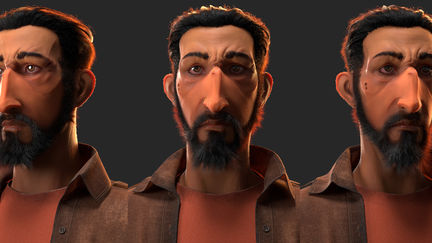 André - Shortfilm Character (Hair done, Char WIP)