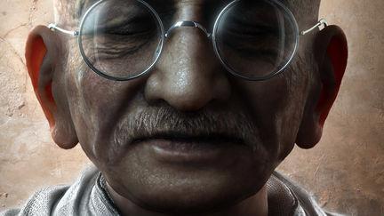 Mahatma Gandhi, the great soul