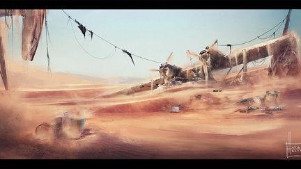 desert crash