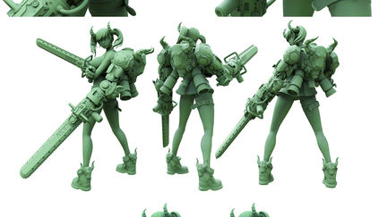 Anime Style Character Sculpt