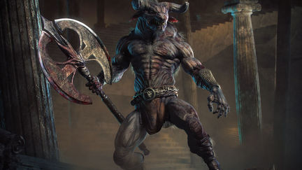 Default 'Ancient Beast' The Minotaur
