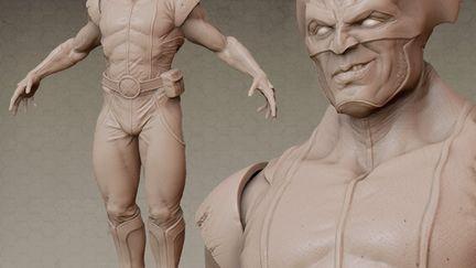 Wolverine : Zbrush Model