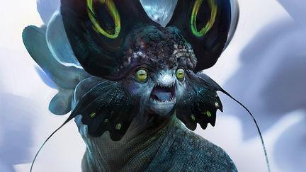 Flower-faced monster