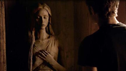 Nina Dobrev Sculpture for Vampire Diaries