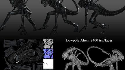 Low Poly Alien