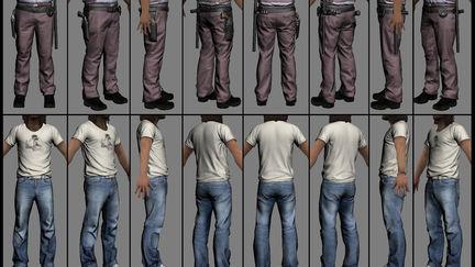 Max Payne 3 character art 1