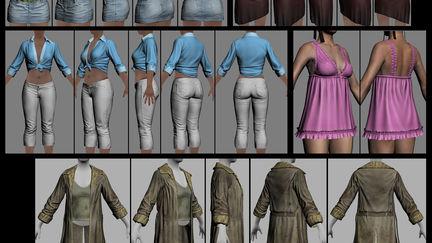 Max Payne 3 character art 3