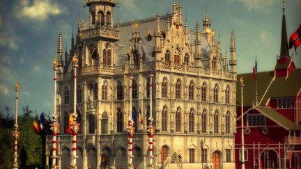 Belgian Pavilion - Paris 1900 World's Fair