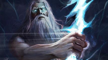 Trueno de Zeus. Zeus Thunder. Guerra de Mitos