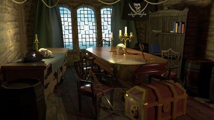 Pirate Captain's Quarters