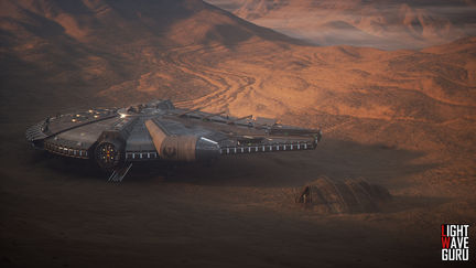YT-1300 GREY WIDOW Planet Erebos