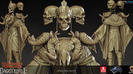 SkullLord sculpt