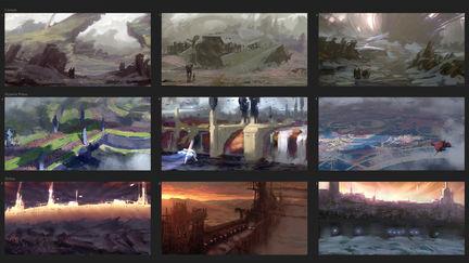 Location Thumbnail Sketches I