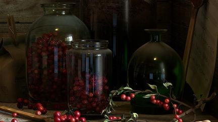 Cherry Red Wine 01