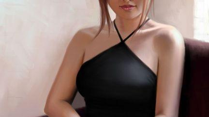 Elena Formal Portrait, Lunatique (2D)