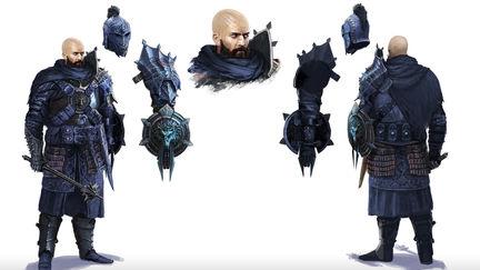 Warrior of the Wolf Dark