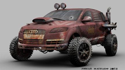 Audi goes Combat...