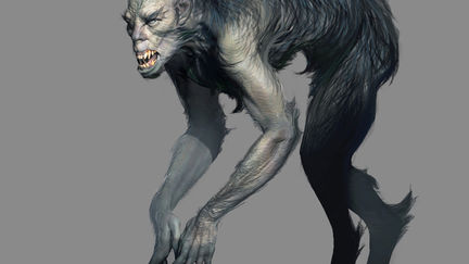 """early design of Lycan monster for """"The Order 1886"""""""