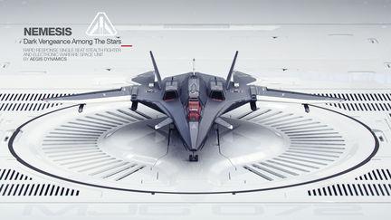 Star Citizen - Aegis Nemesis Spaceship 3D Concept