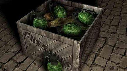 Barrel Of Laughs...crates Of Death