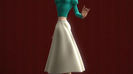 Cinemark Character - Lady Character