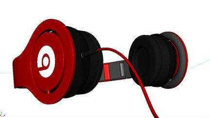 Beats Headphones textured
