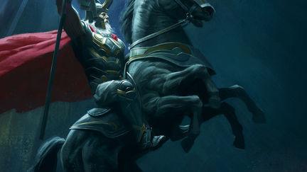 Thor - Odin and Sleipnir