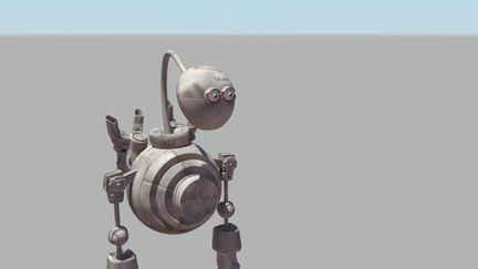 Robot second texture pack