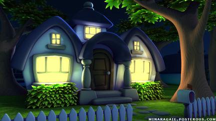 Stylized House