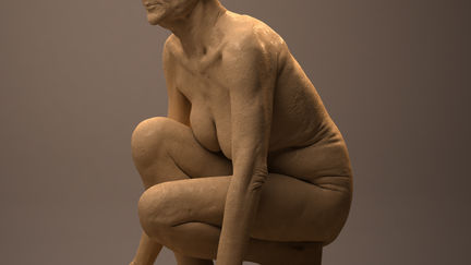 Old woman sculpt