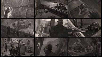 Movie Storyboard sample