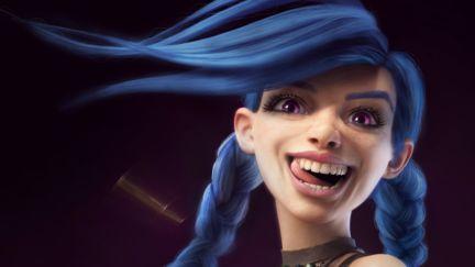 Jinx, League of legends Fan art