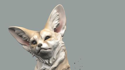 Fennec Fox # SculptItYourself