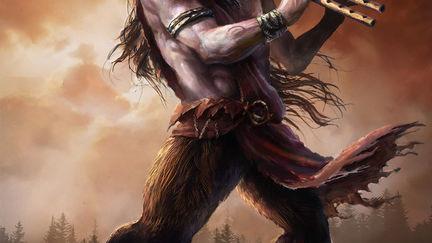 Marsyas the Satyr