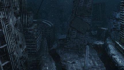 Lost City (3d Matte Test)
