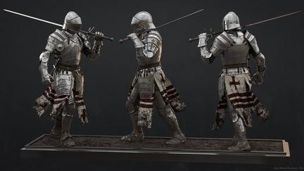 Medieval Knight Model