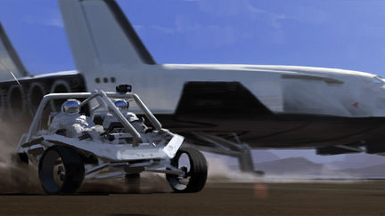 Buggy and shuttle