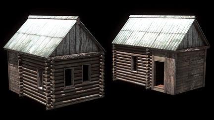 Russian_Village_House_01