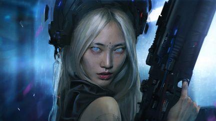 Concept sci_fi girl