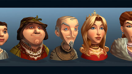 Settlers 7 characters