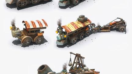 Armored Assault Units