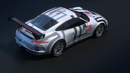 Porsche 991 GT3 GTAmerica game model