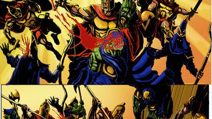 tides of war graphic novel