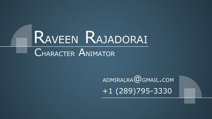 Animation Reel 2011