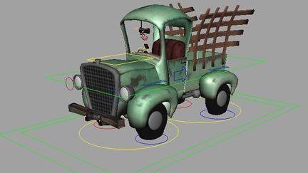 Farm truck - Rig demo