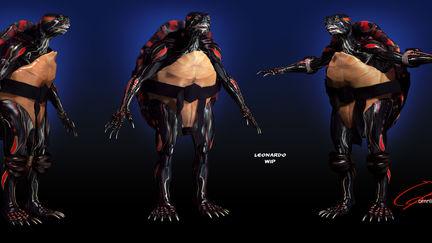 Ninja Turtles 2013, redesign photo realistic TMNT