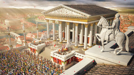 """Blessed by the Gods"" - ""Ancient Rome"" competition work"