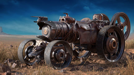 Steampowered Steed